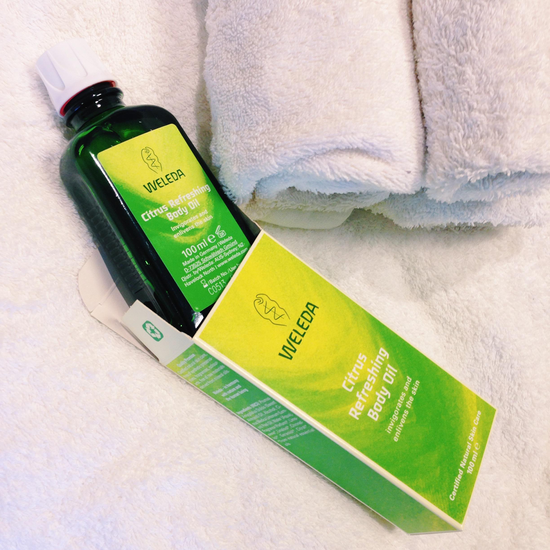 Body Oil Citrus - Weleda