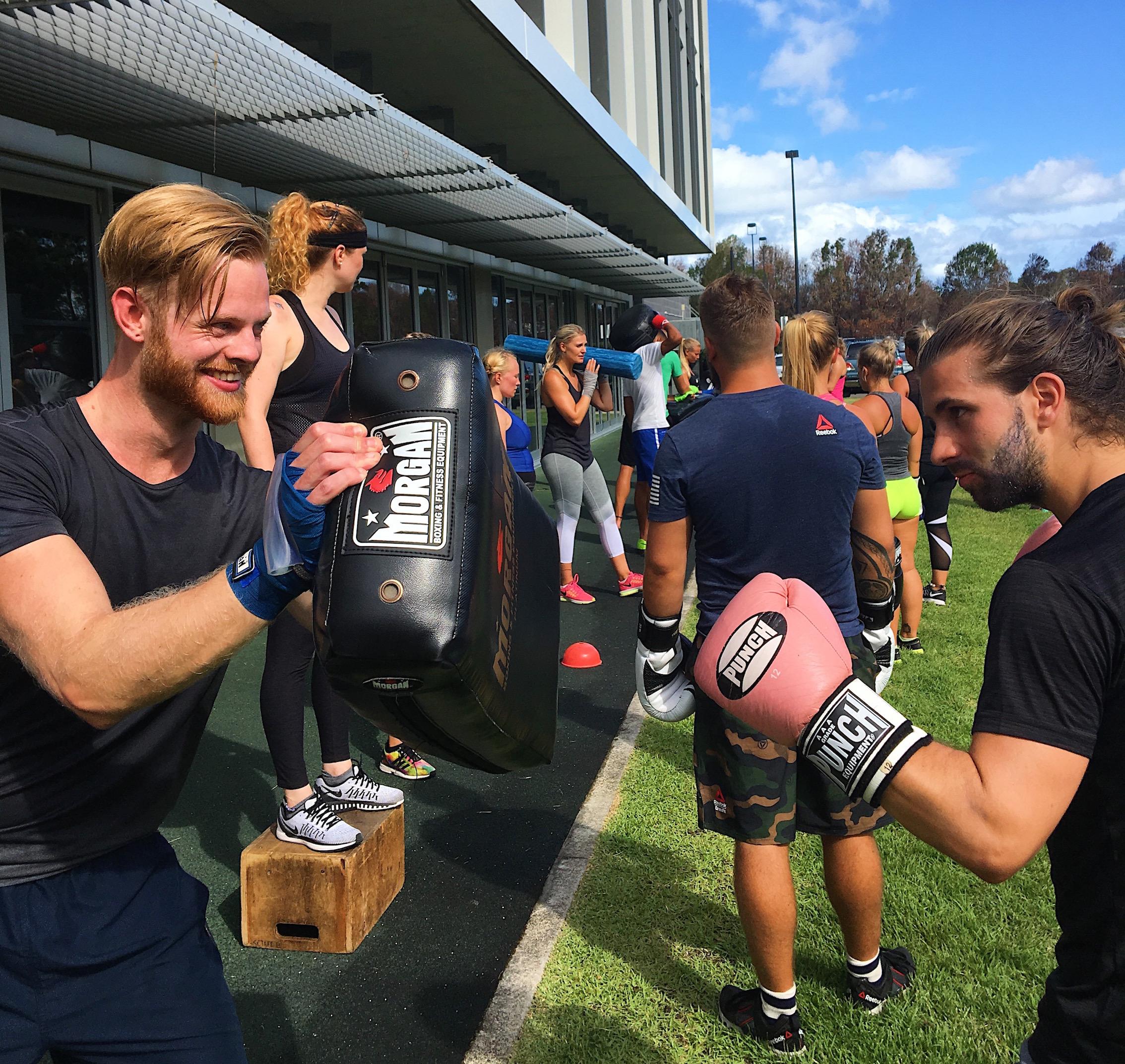 Energi inför träning