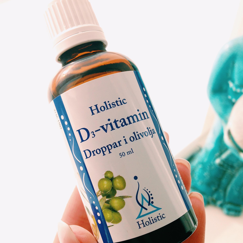 Ekologiska D-droppar - Holistic
