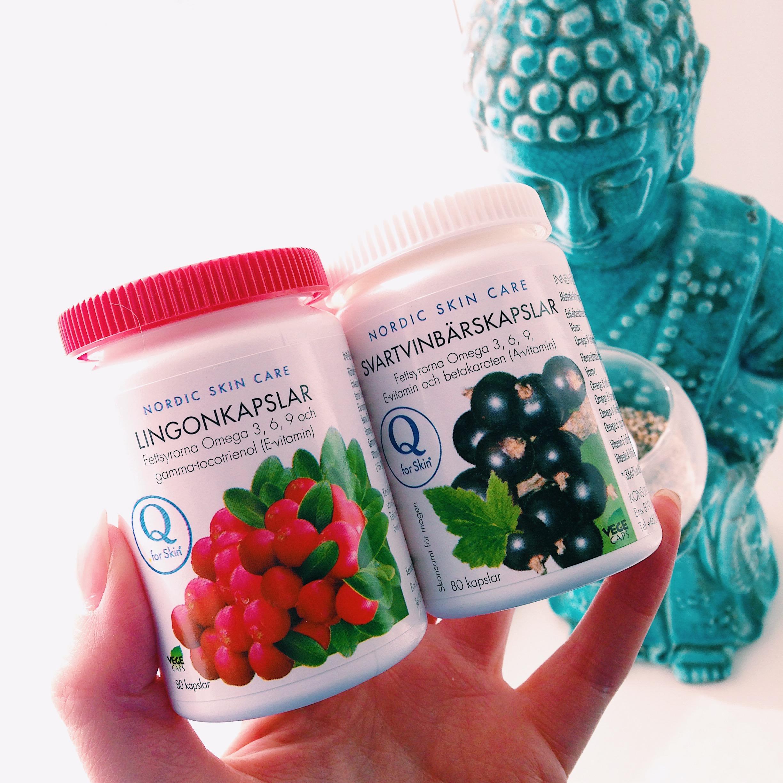 vegansk omega3 - Q for Skin