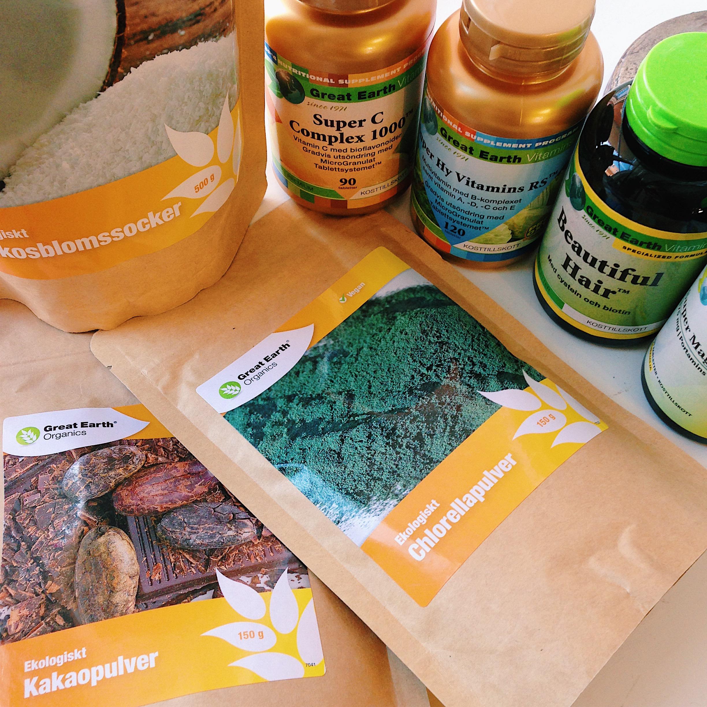 ekologiska kosttillskott - Great Earth