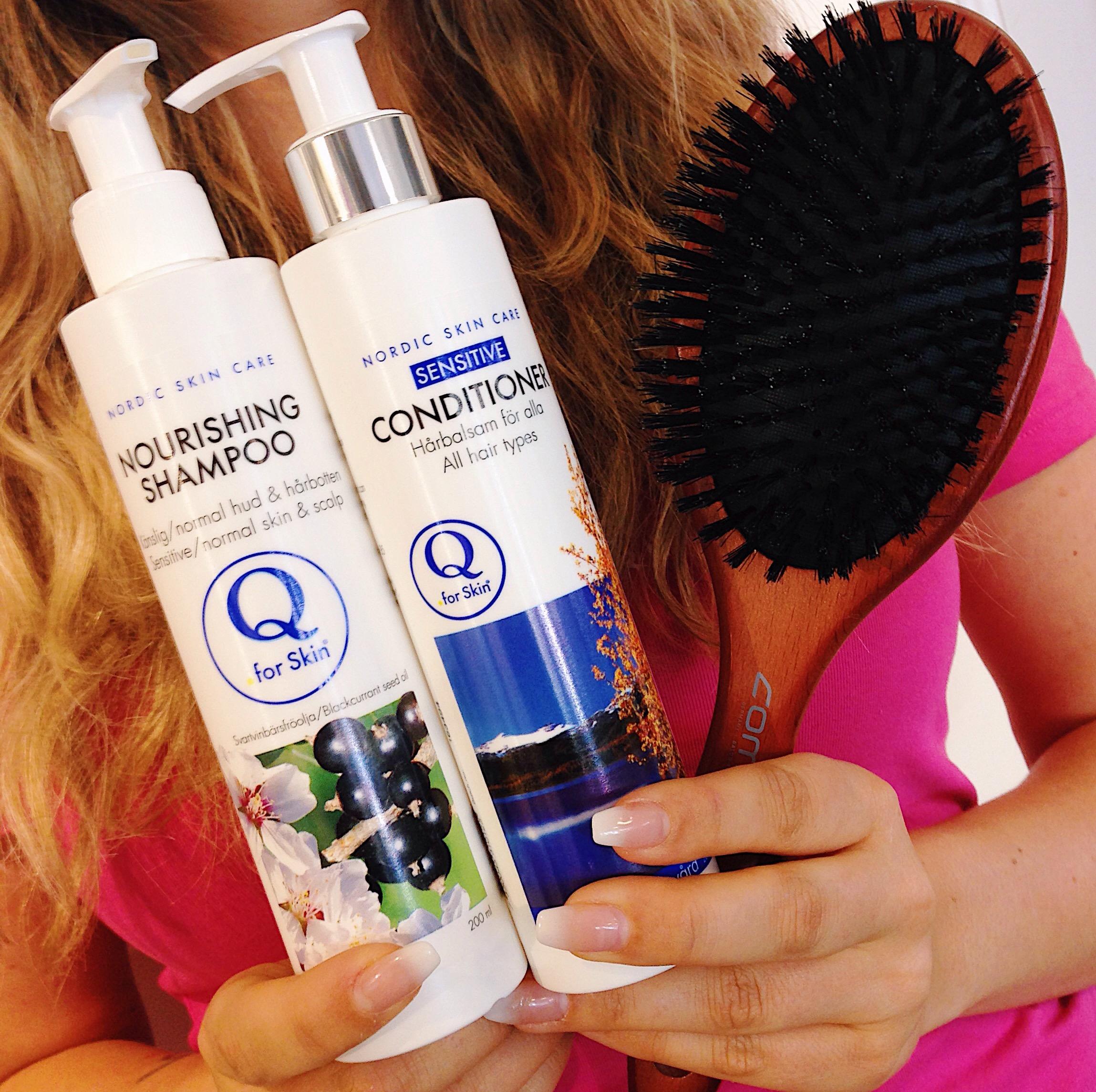 vackert hår - q for skin