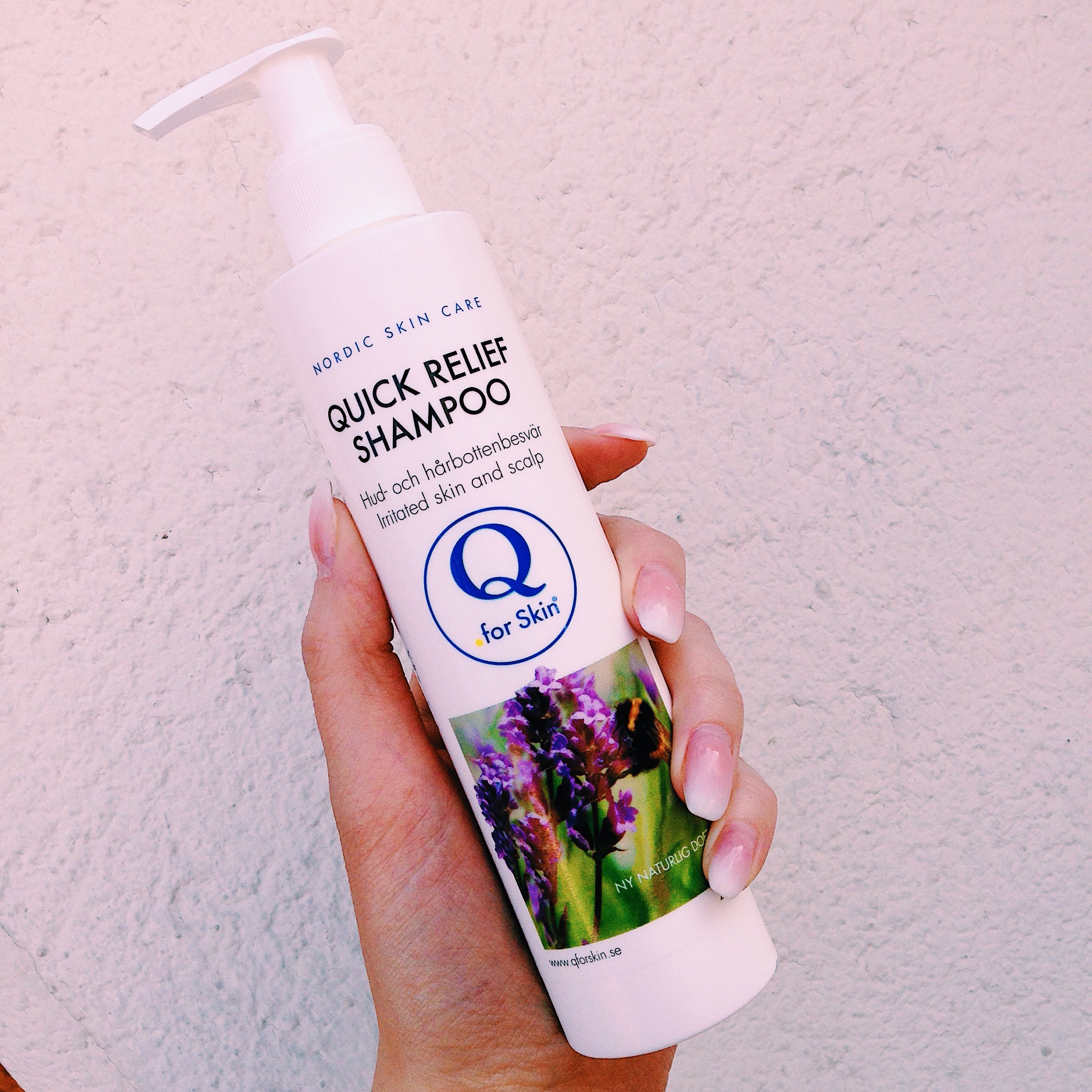 quick relief shampoo - q for skin