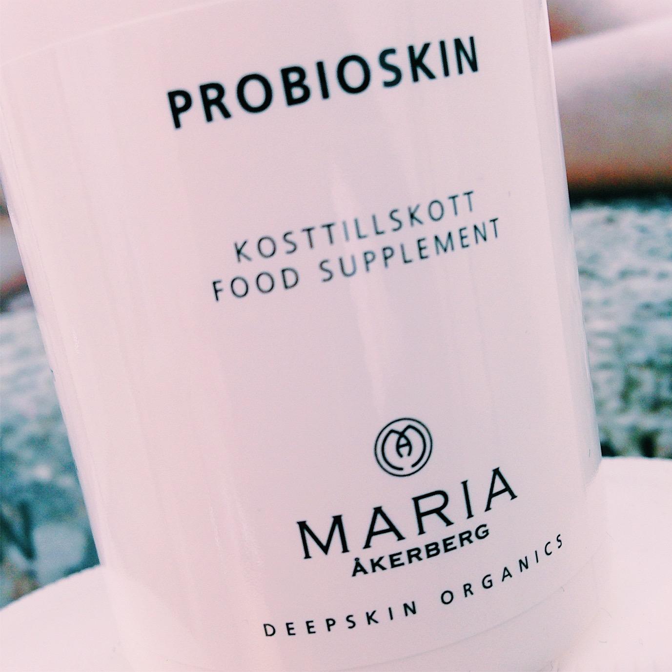 probioskin - maria åkerberg - kosttillskott