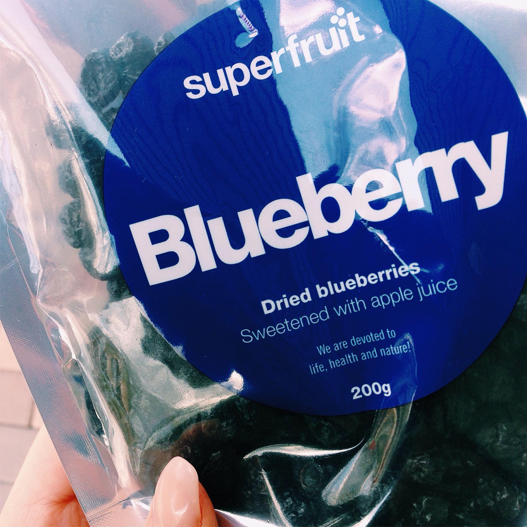 torkade blåbär - Superfruit