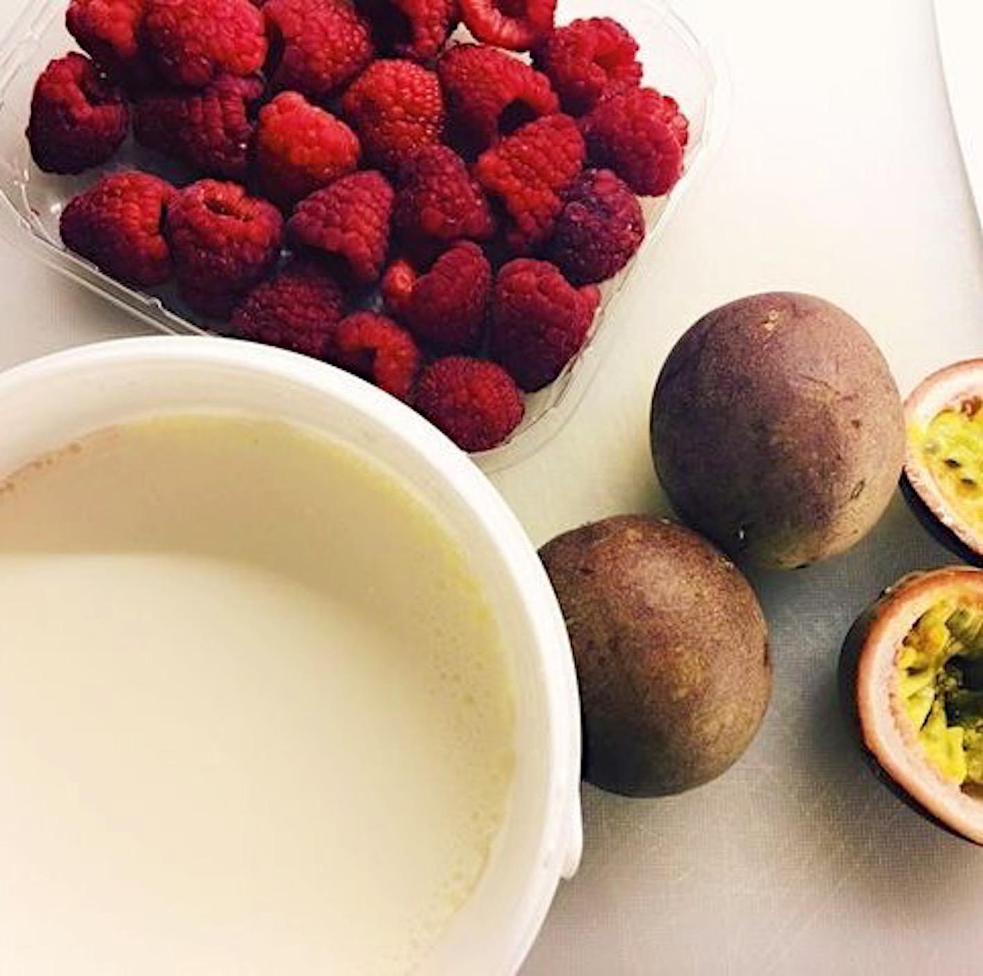 nyttig frukost - chiafrön