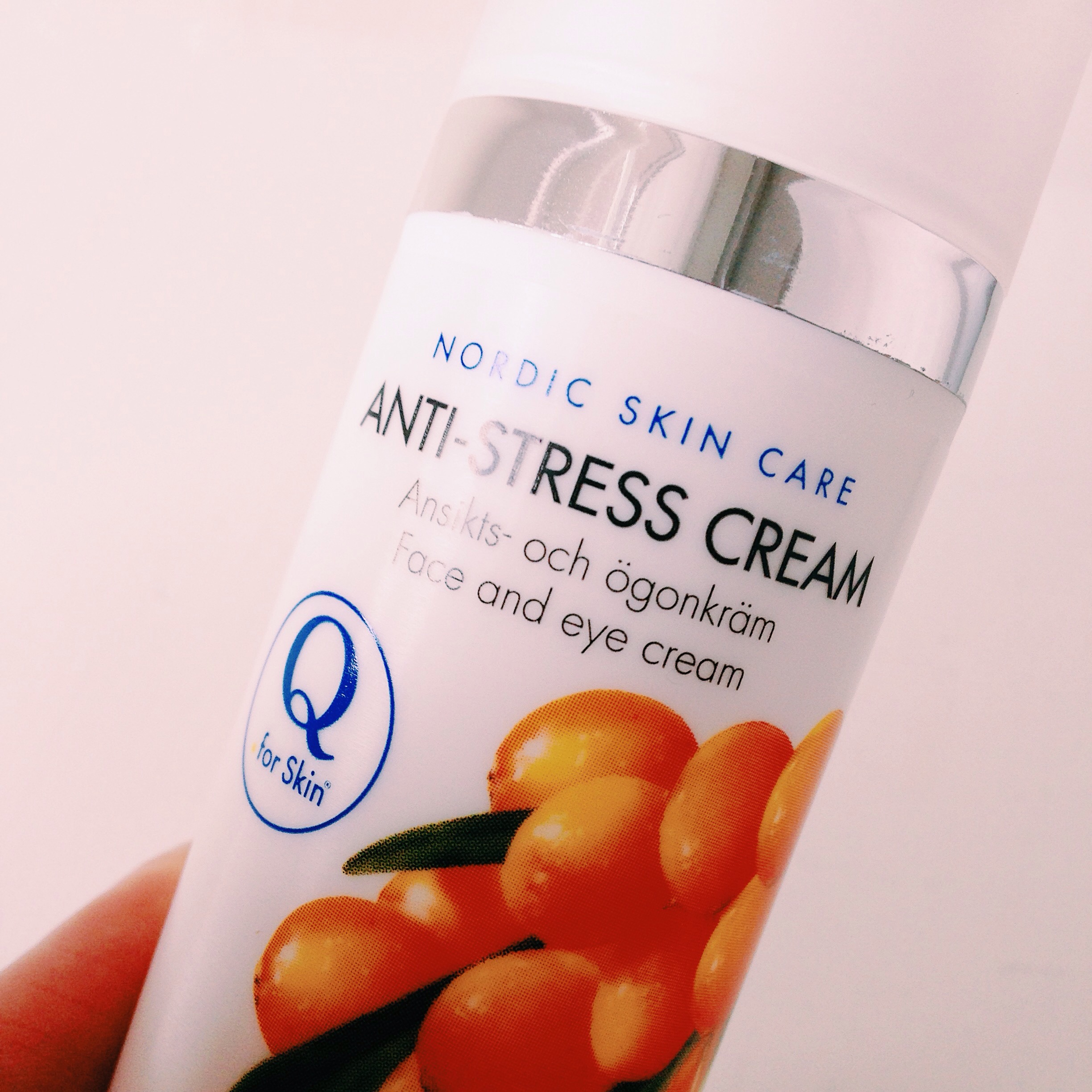 anti stress cream - q for skin