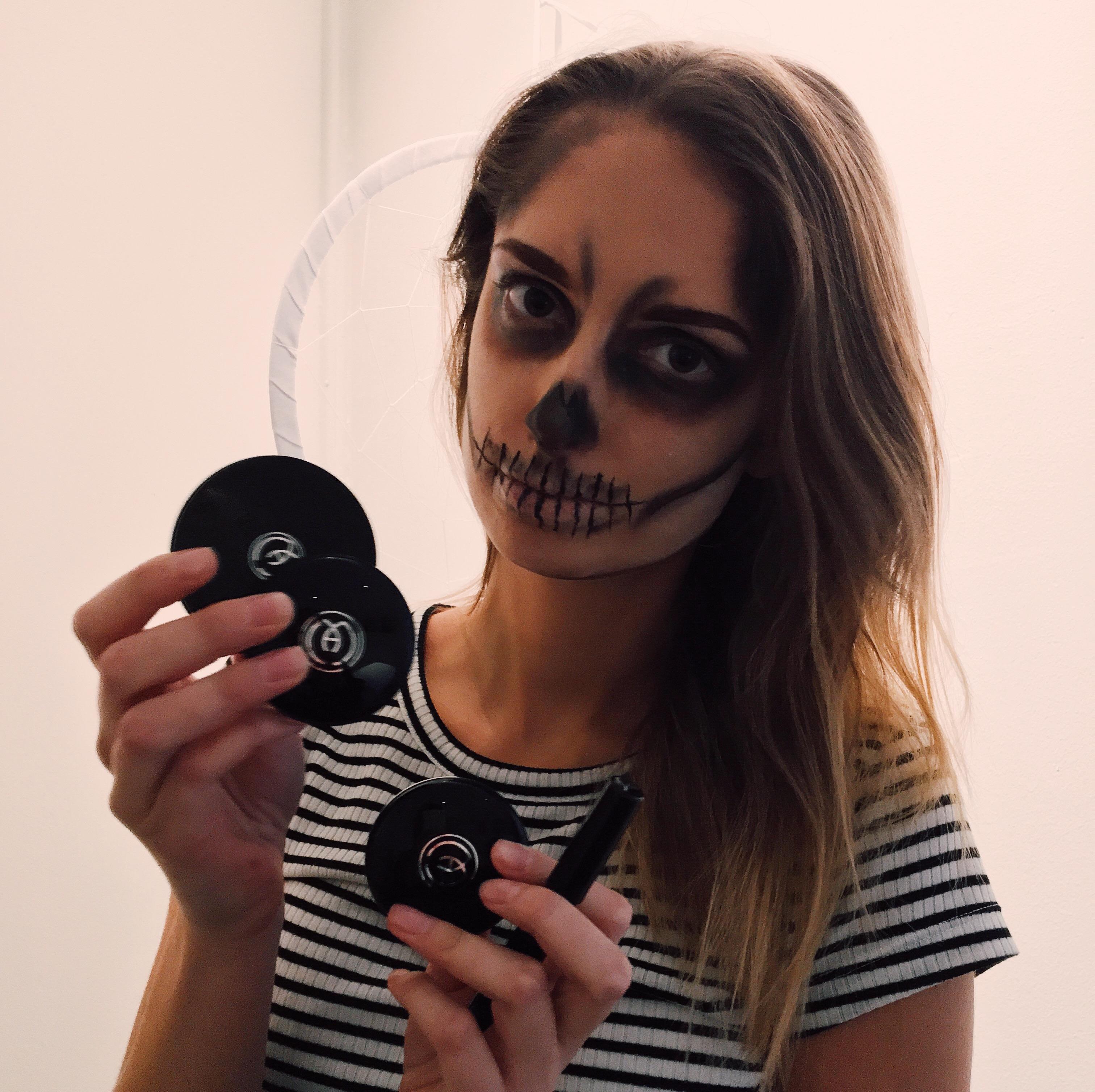 ekologiskt smink halloween - maria åkerberg