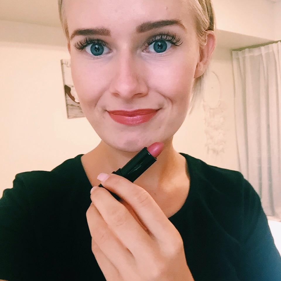 Vegan Lip Stick - Pink Poppy - INIKA Organic