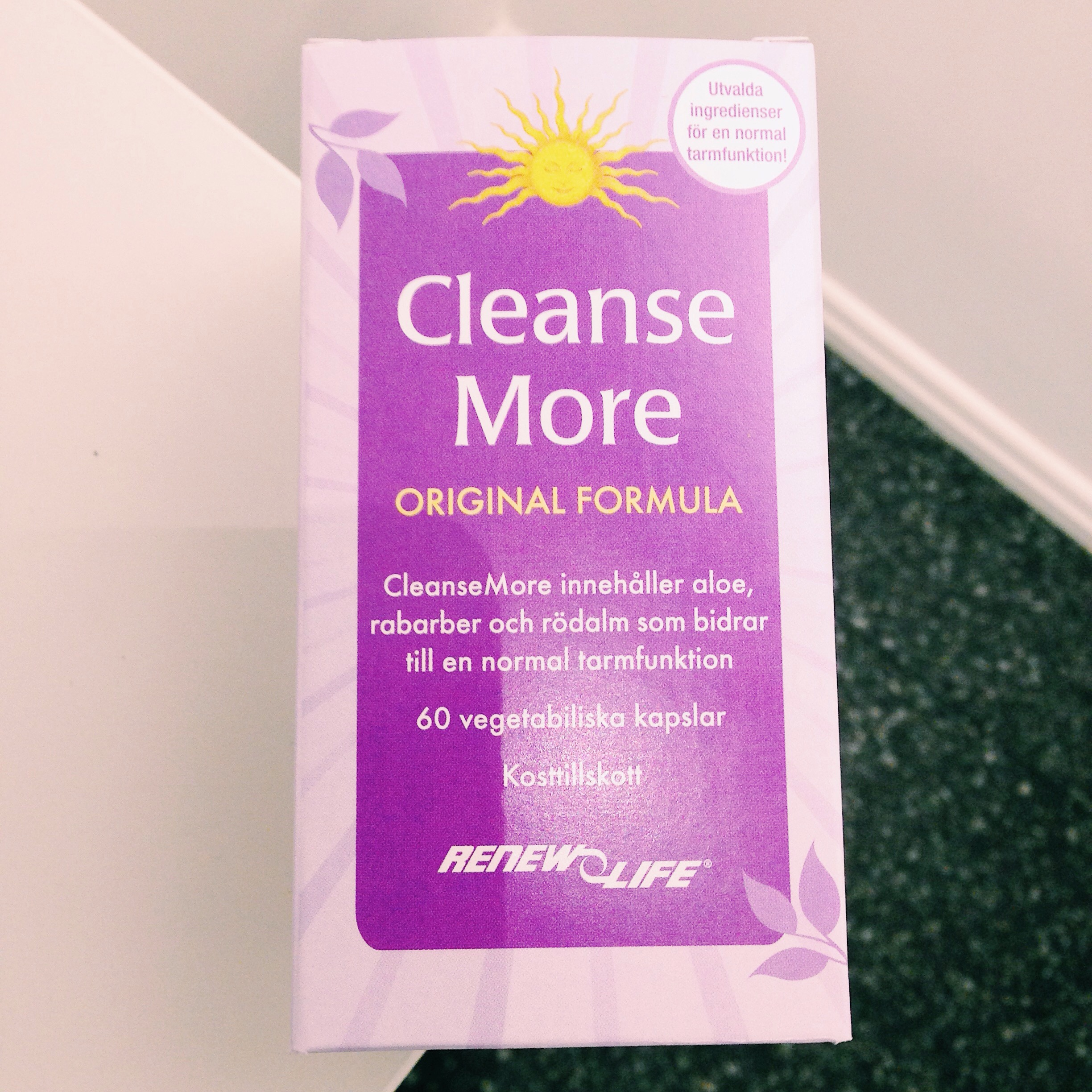 cleanse more - renew life
