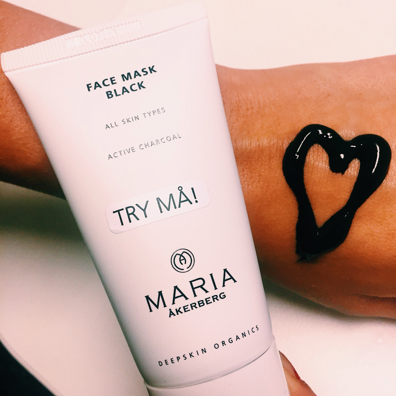 Face mask Black - Maria Åkerberg