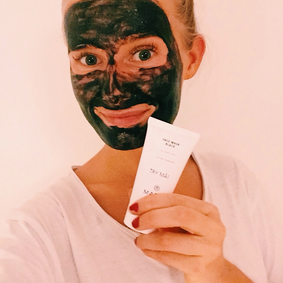 Face mask Black - Maria Åkerberg