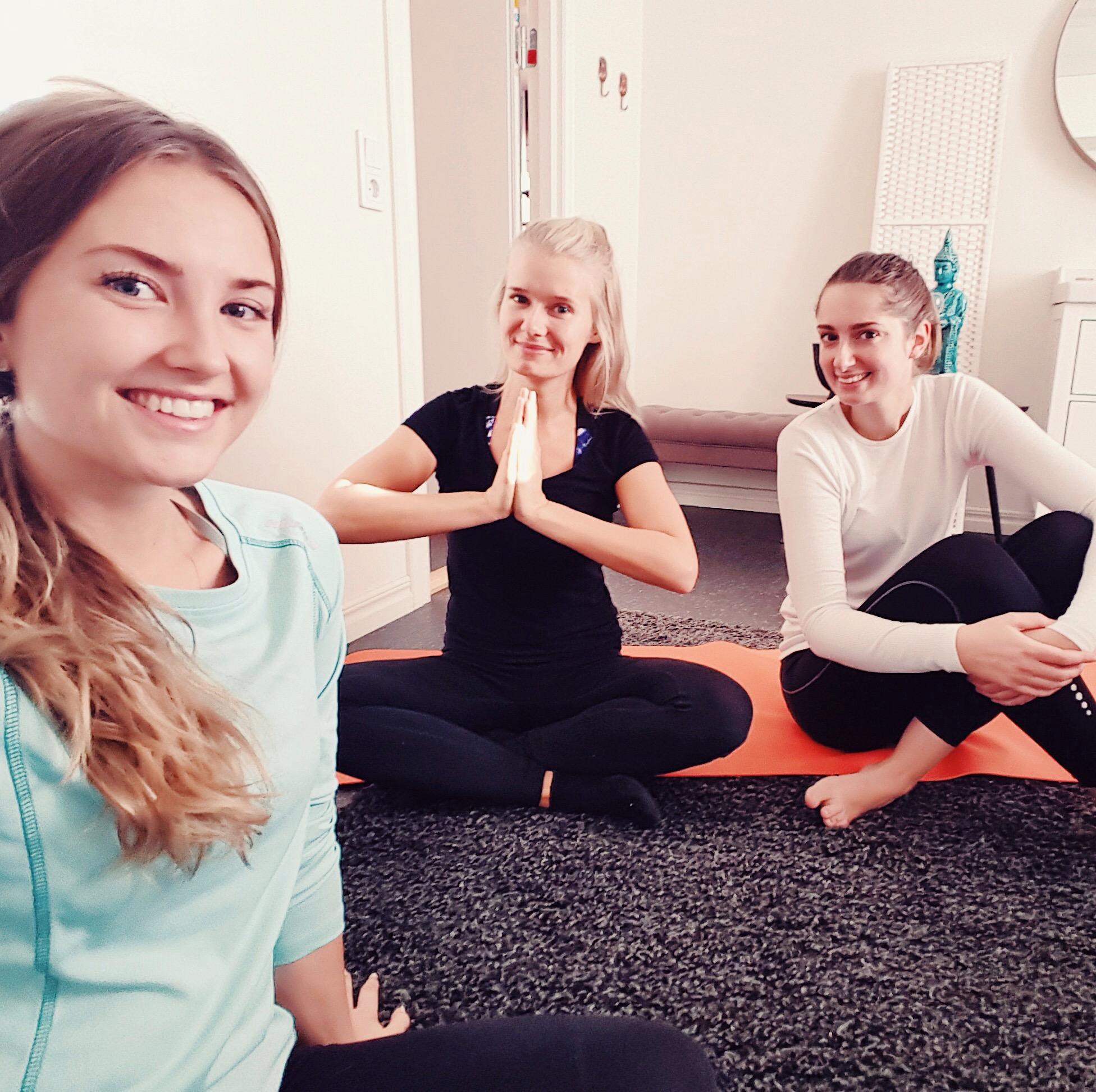 yoga innan jobbet - Piggabutiken