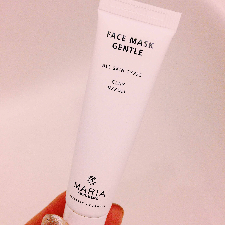face mask gentle - ekologisk ansiktsmask - maria åkerberg