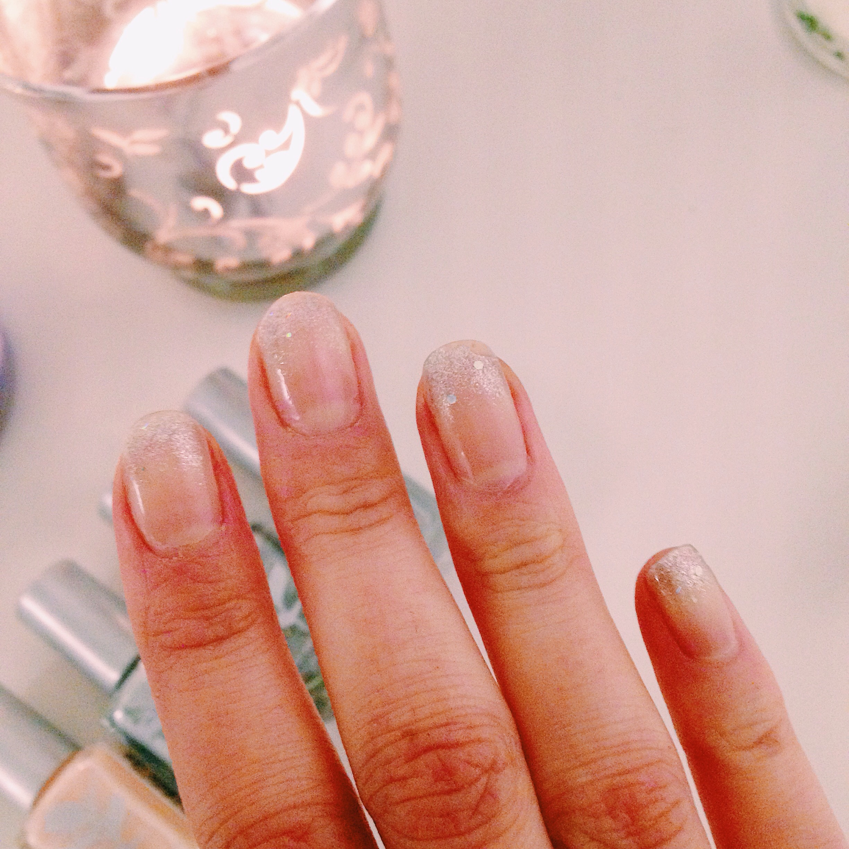 glitter - giftfritt nagellack - Priti NYC