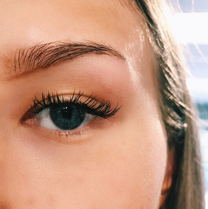 ögonbryn - steg för steg