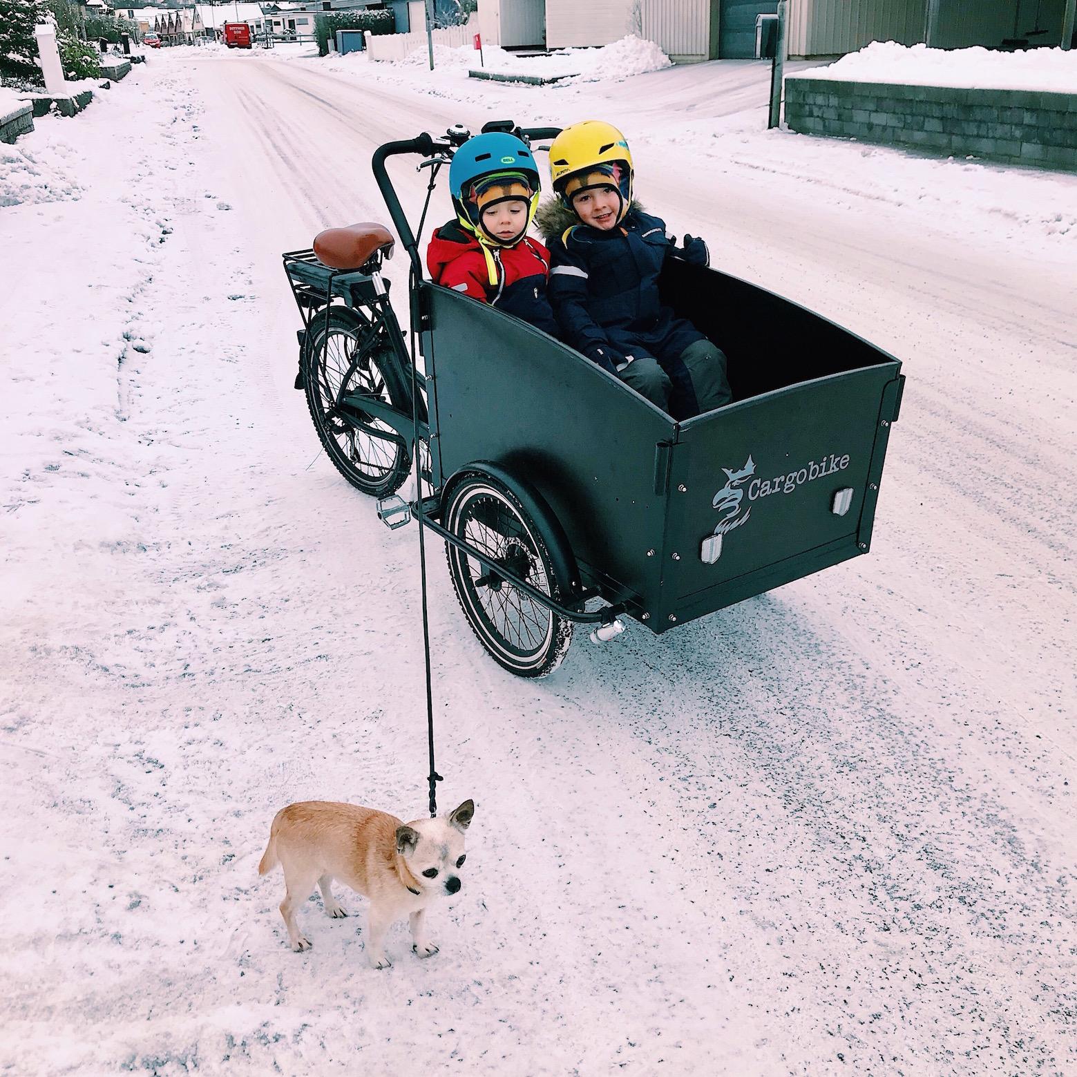 caer of gerd - 24/7 balm - ute - vinter - snö - kyla