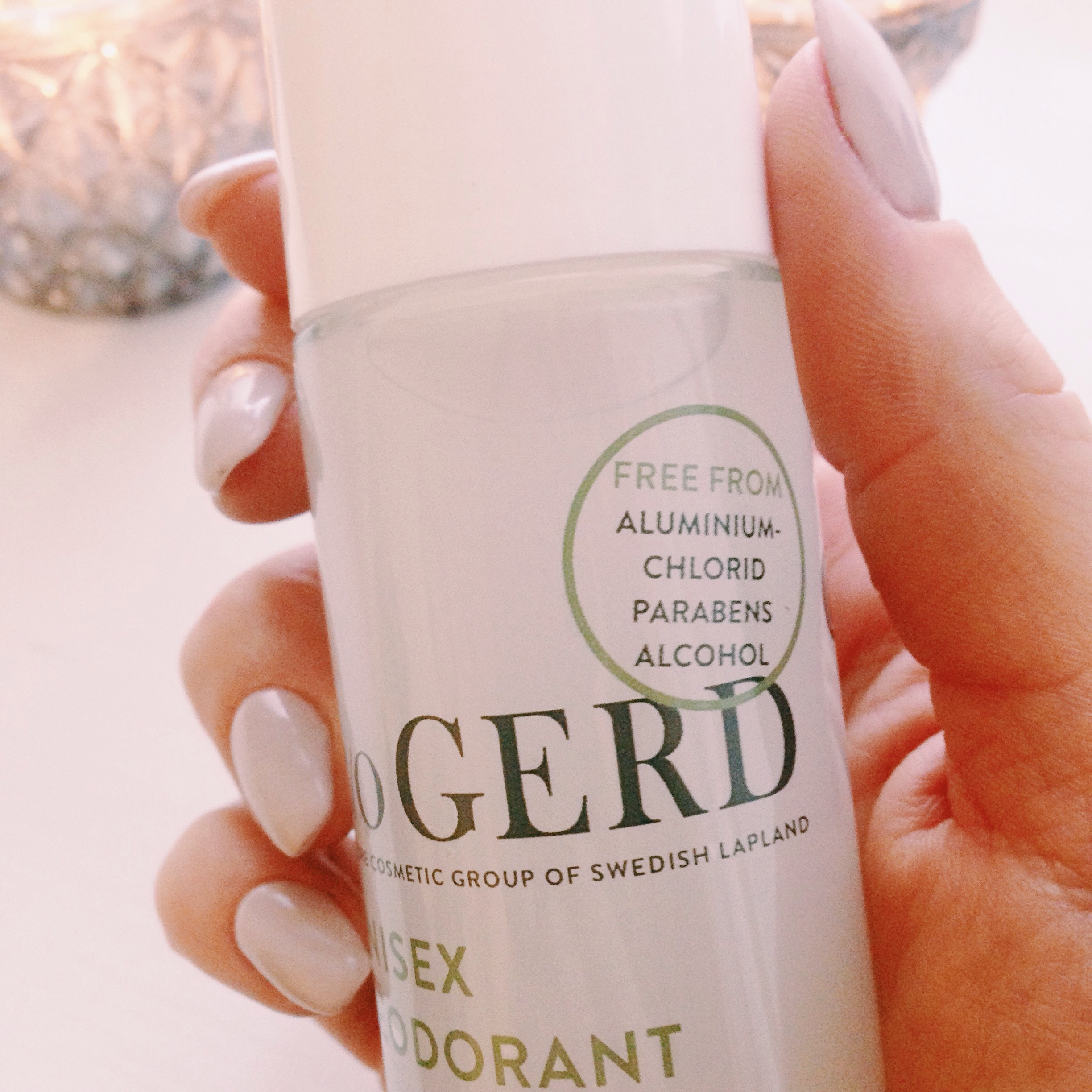deodorant - care of gerd - ingredienser