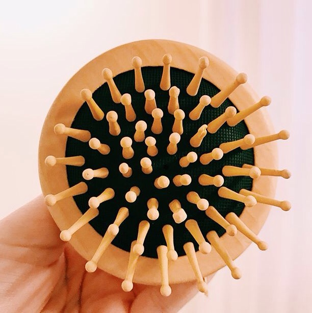 hårborste av trä - Senses by Nature