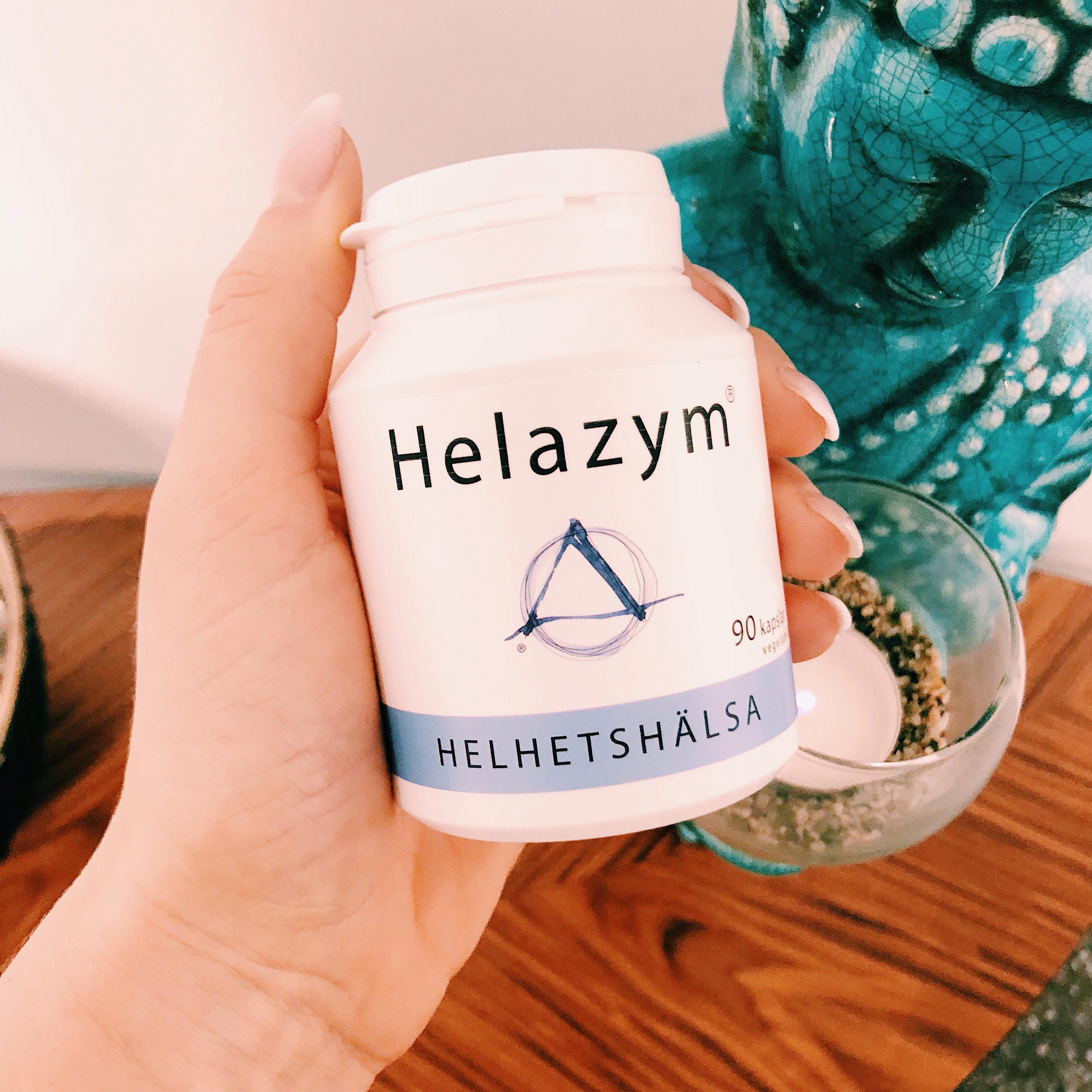 helazym - enzym - helhetshälsa