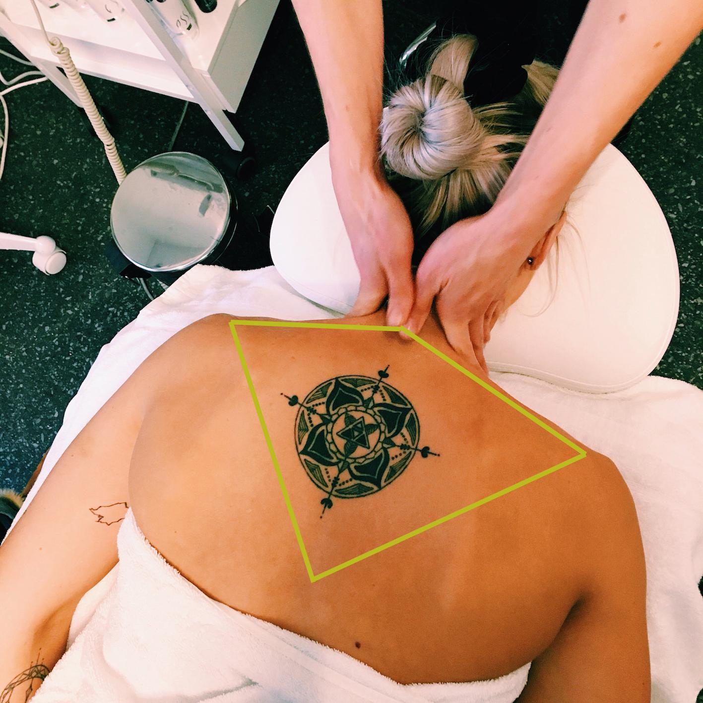 spänningshuvudvärk - massage