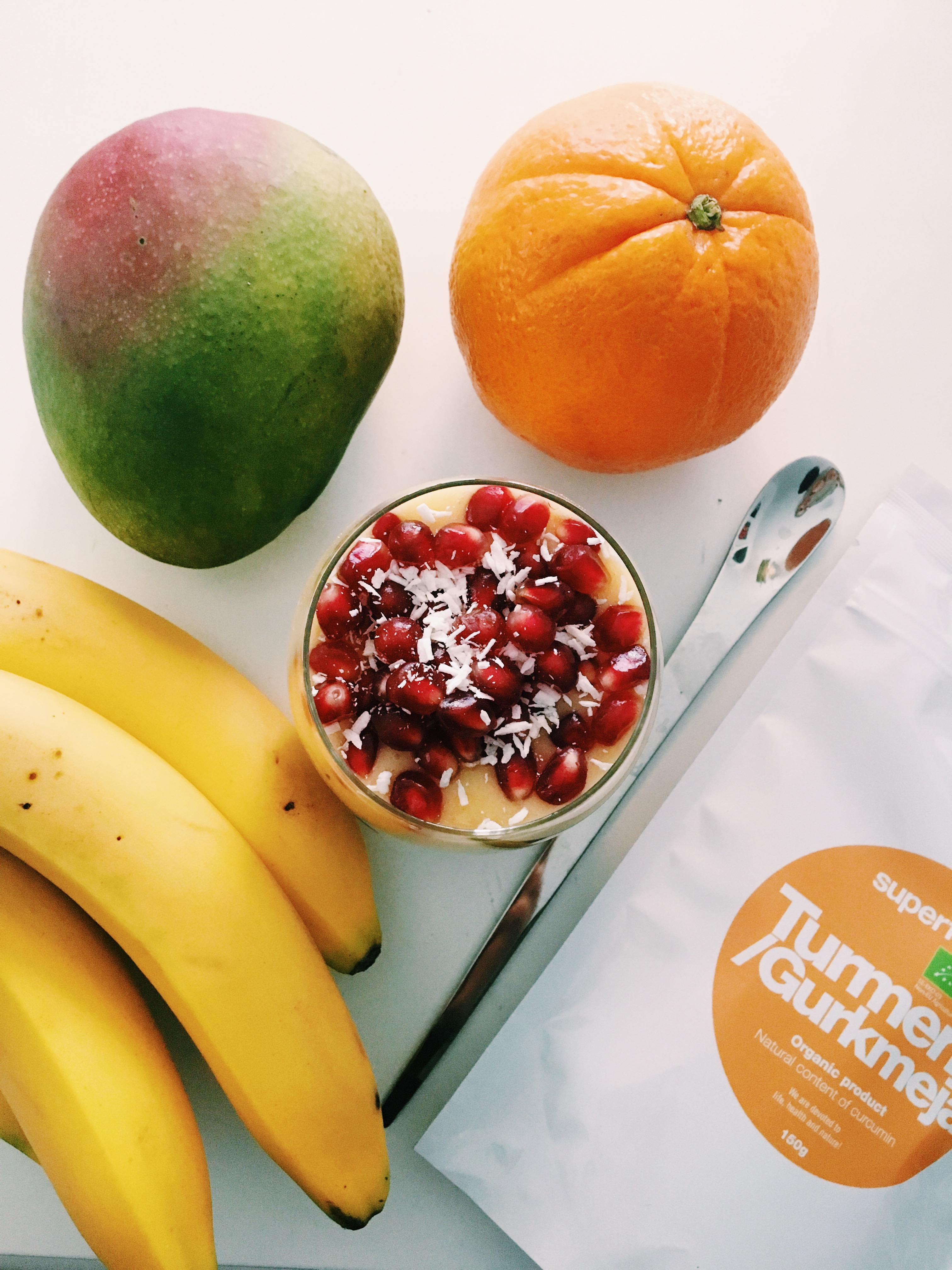 gurkmeja - chiapudding - superfruit - frukost