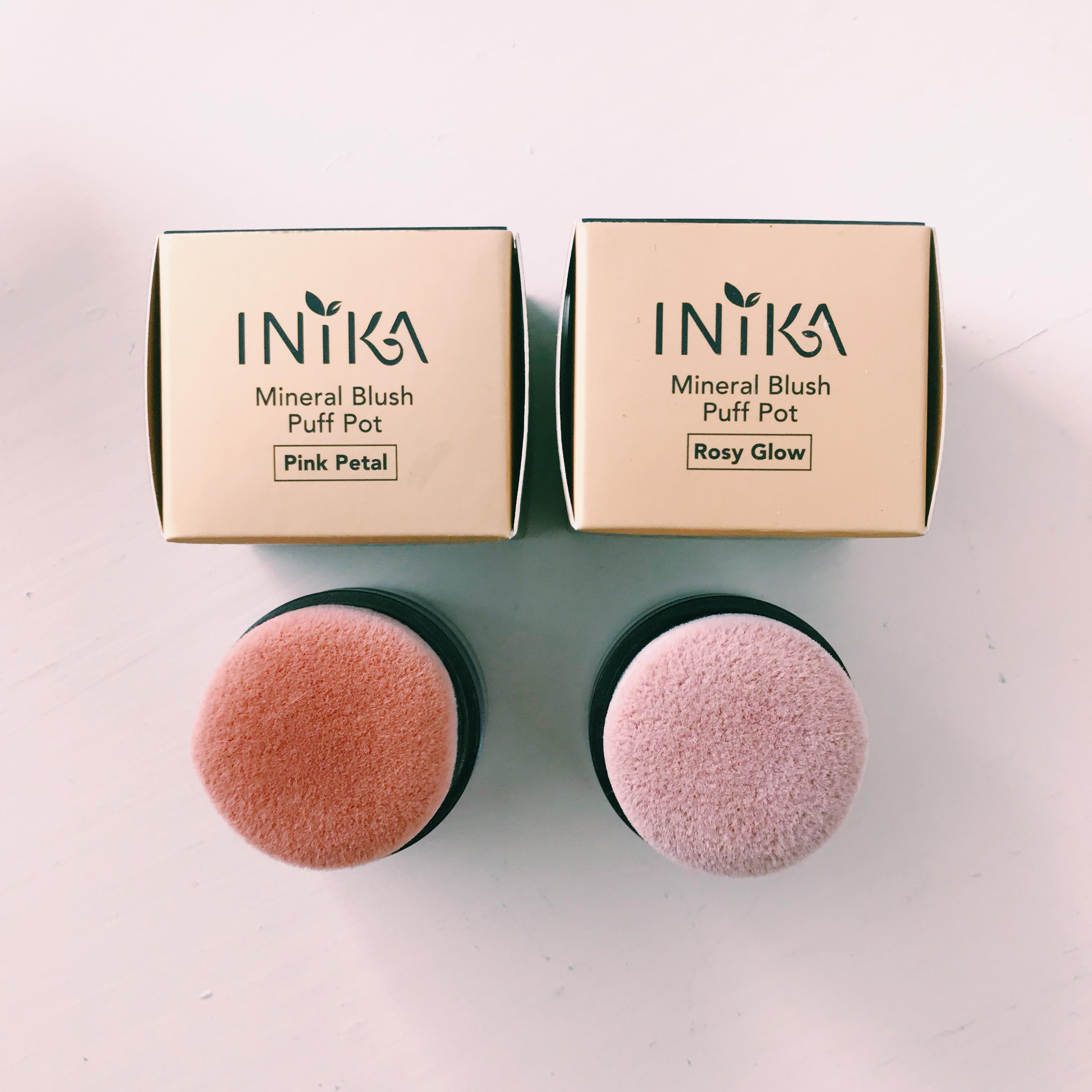 Mineral Blush Puff Pot - rouge - INIKA Organic