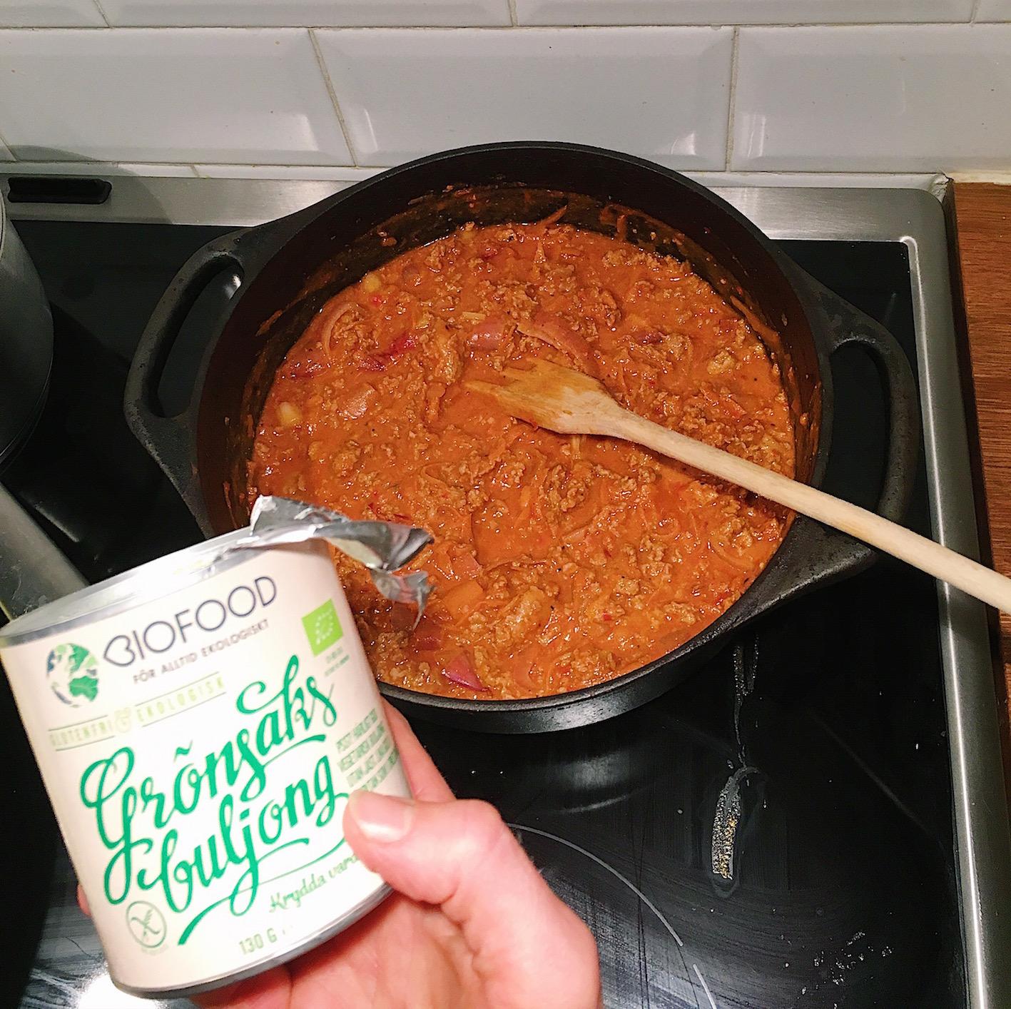 biofood - grönsaksbuljong
