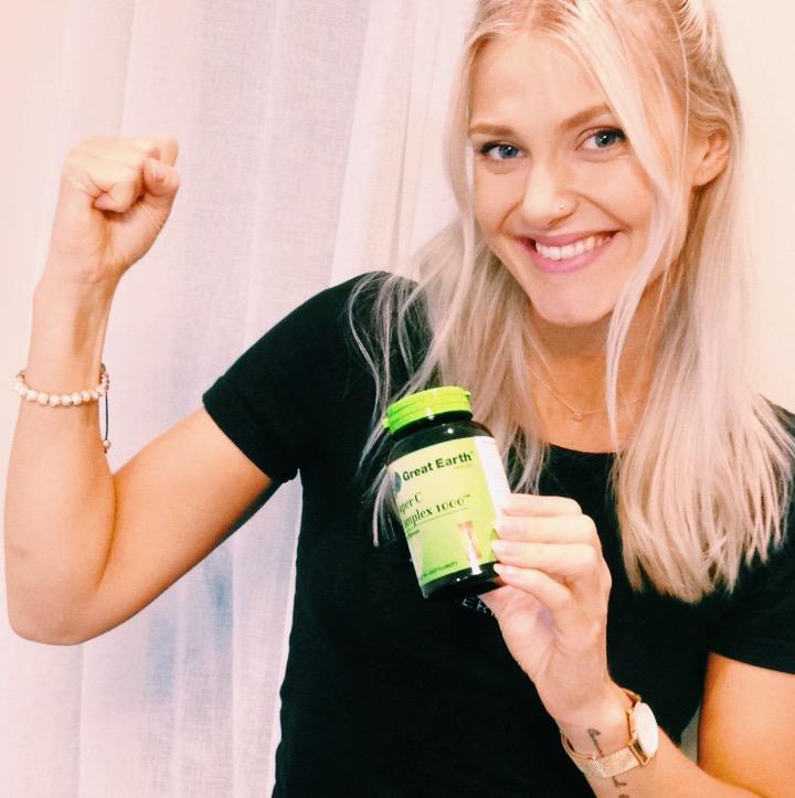 c vitamin - super c - great earth