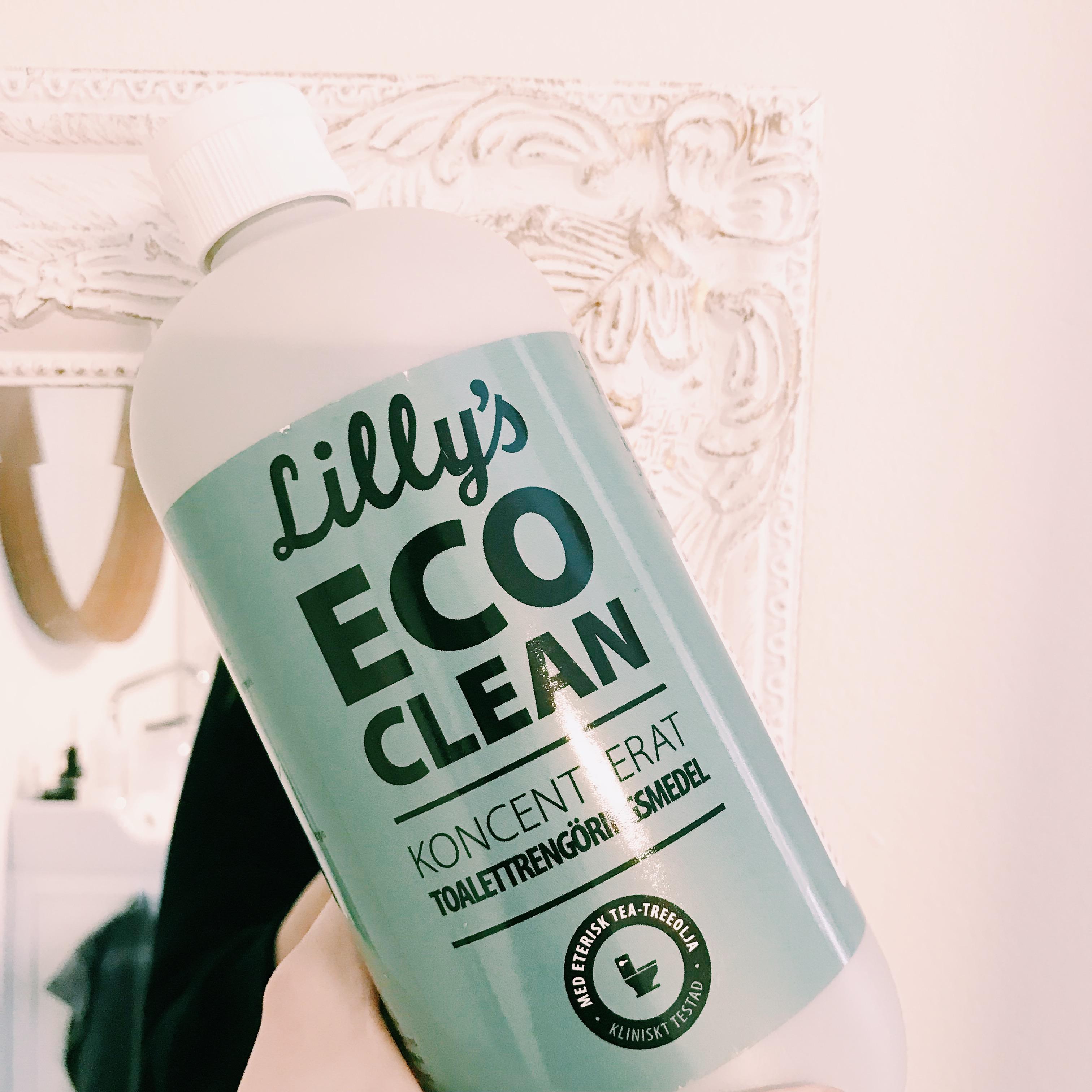 miljövänlig toalettrengöring - lillys eco clean