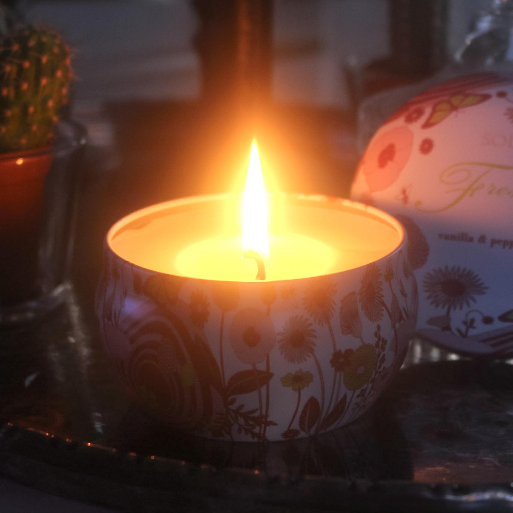 Doftljus Vanilj/Pepparmint